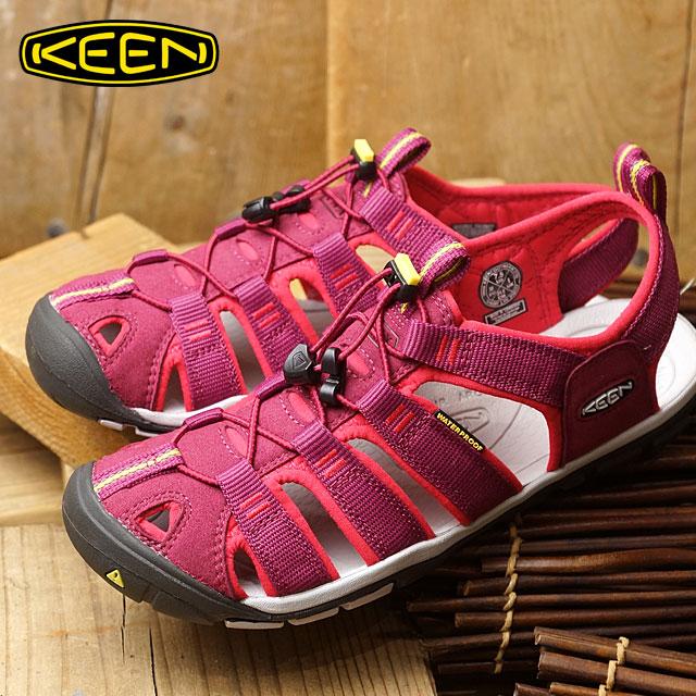 KEEN キーン クリアウォーター シーエヌエックス サンダル 靴 レディース Clearwater CNX WMN Anemone/Acacia (1016297 SS17)【コンビニ受取対応商品】