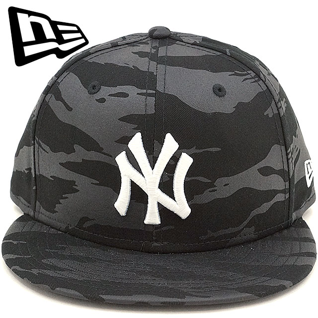 NEWERA new gills cap New Era 59FIFTY NY TIGER STRIPE CAMO BLACK ON BLACK  CAP New York Yankees Tigers tripe duck baseball cap hat TSC black   Snow  white ... 5e18d65860e