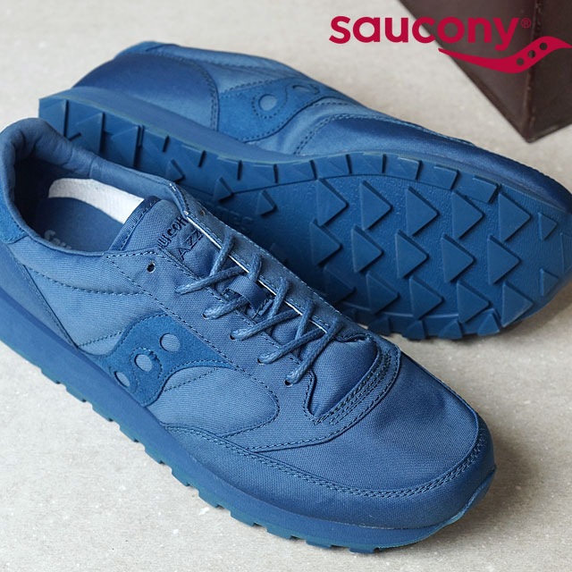 7ad3e43e6f41 SAUCONY サッカニ- JAZZ ORIGINAL jazz original navy men gap Dis sneakers (S70294- 3 SS17)
