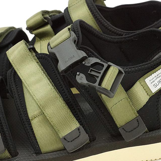 3d334f92491 ... SUICOKE Sui cook men gap Dis GGA-V vibram sole sandals OLIVE (OG-