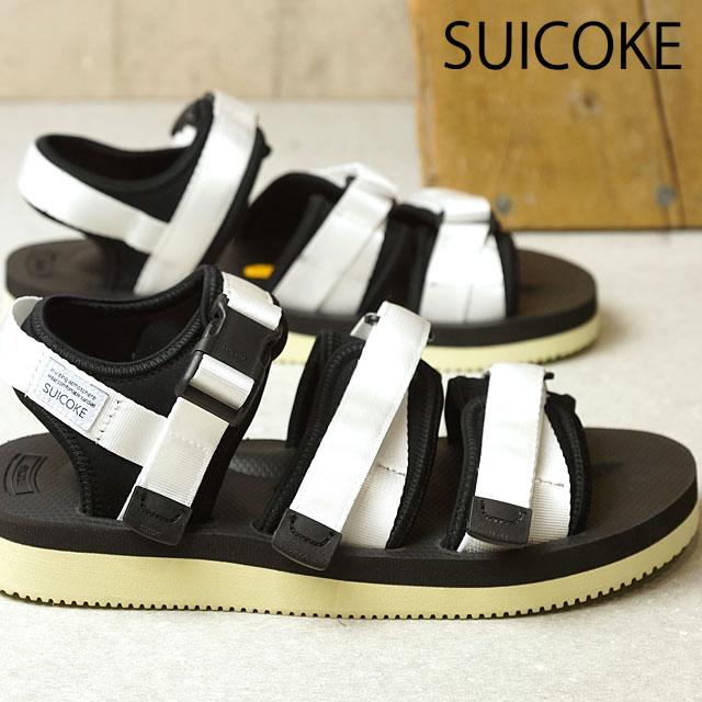 db909259135 SUICOKE Sui cook men gap Dis GGA-V vibram sole sandals WHITE (OG- ...