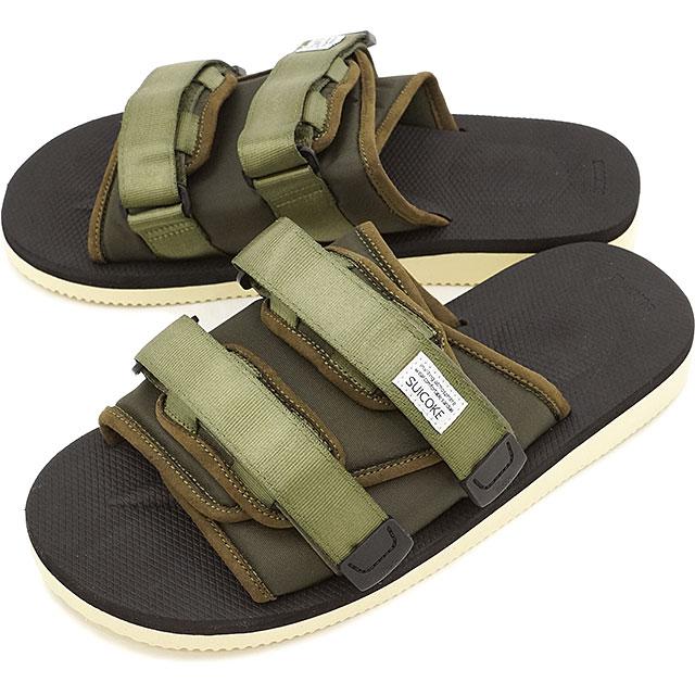 8f058237a918 SHOETIME  SUICOKE Sui cook men gap Dis MOTO sandals OLIVE (OG-056 ...