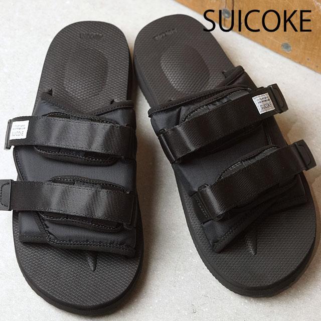 e42a6e38c795 SUICOKE Sui cook men gap Dis MOTO sandals BLACK (OG-056 SS17) shoetime