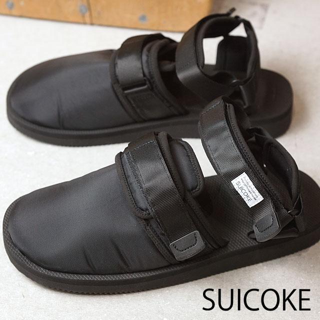 【ラスト1足/26.0cm】SUICOKE スイコック メンズ レディース NOTS サンダル 靴 BLACK (OG-061 SS17)【ts】【コンビニ受取対応商品】
