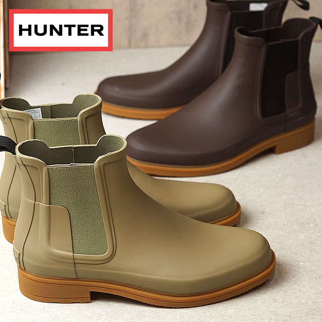 aeb347f4494f HUNTER hunter men MENS ORGINAL REFINED CHELSEA original re-find Chelsea  side Gore boots (MFS9060RMA SS17)