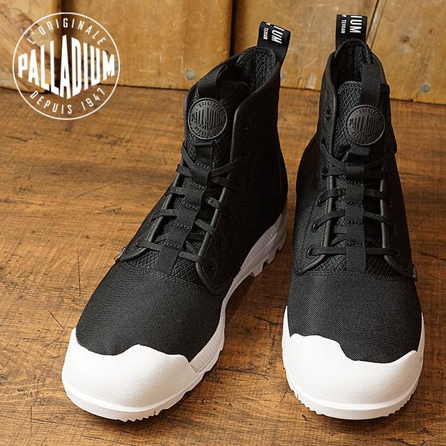 c2a18b6d799 PALLADIUM palladium sneakers men PAMPATECH HI TX pampas technical center  high TX BLACK/WHITE (75,339-002)