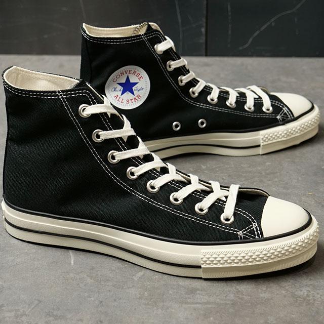 【国産モデル】コンバース キャンバス オールスター J ハイカット CONVERSE CANVAS ALL STAR J HI ブラック 靴 (32067961)【e】