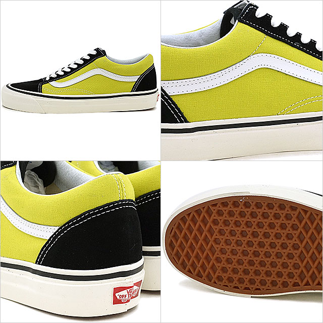 VANS vans ANAHEIM FACTORY PACK Anaheim factory pack OLD SKOOL 36 DX old school BLACK/MINERAL GREEN (VN0A38G2MWN SS17)