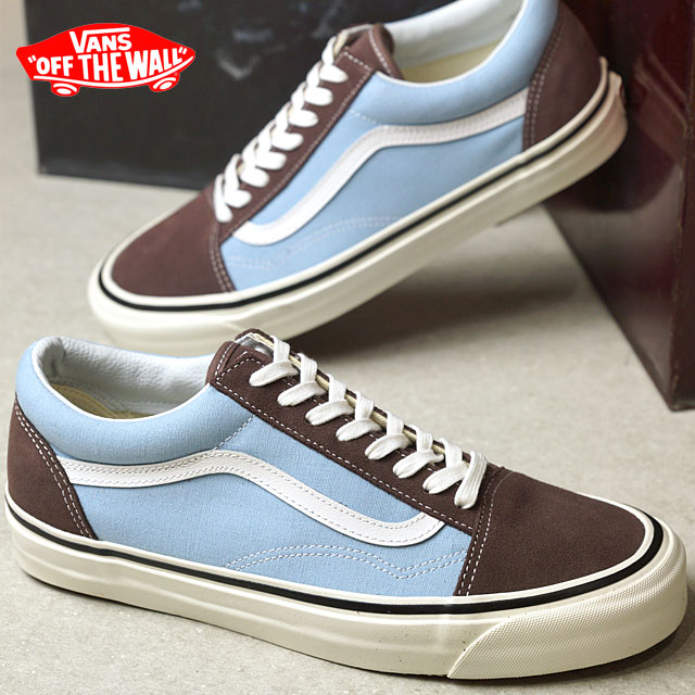 SHOETIME  VANS vans ANAHEIM FACTORY PACK Anaheim factory pack OLD SKOOL 36  DX old school BROWN LIGHT BLUE (VN0A38G2MWO SS17) shoetime  5032faea9f7f