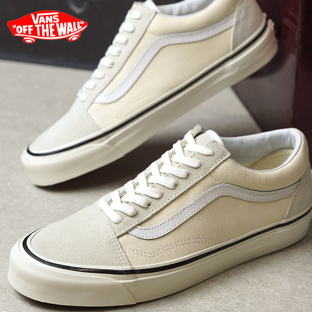 VANS vans ANAHEIM FACTORY PACK Anaheim factory pack OLD SKOOL 36 DX old  school CLASSIC WHITE (VN0A38G2MR4 FW18) 03bb94e39645