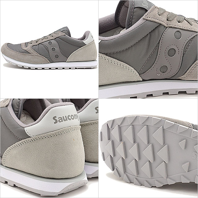 SAUCONY サッカニ JAZZ LOWPRO jazz low pro gray men gap Dis sneakers shoes (S2866 215 SS17)