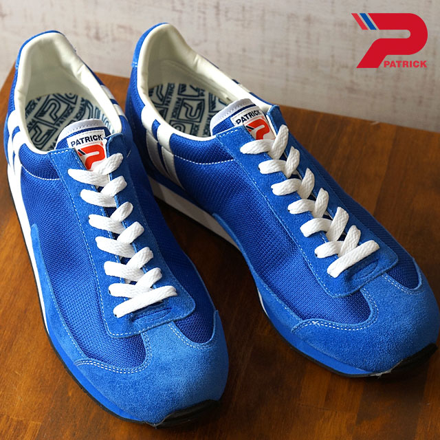 【月間優良ショップ】【ノベルティプレゼント】【返品送料無料】PATRICK パトリック スニーカー MIAMI17 マイアミ 17 メンズ・レディース 日本製 靴 BLU ブルー系 (529002)