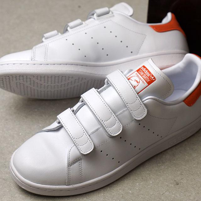 new style 2ddb7 0ad5b adidas Originals Adidas originals STAN SMITH CF men gap Dis Stan Smith  Velcro comfort R white /R white /R white (BB0067 SS17) shoetime