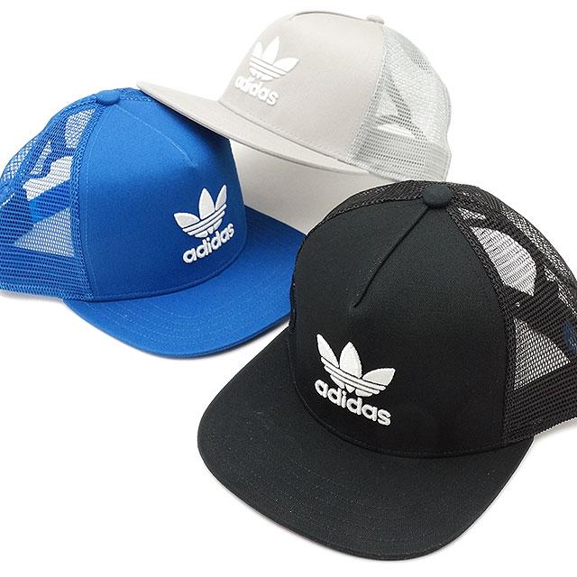 6dab17eb ... adidas Originals Adidas originals TREFOIL TRUCKER CAP  メンズレディーストレフォイルトラッカーメッシュキャップ (BK7308/ ...