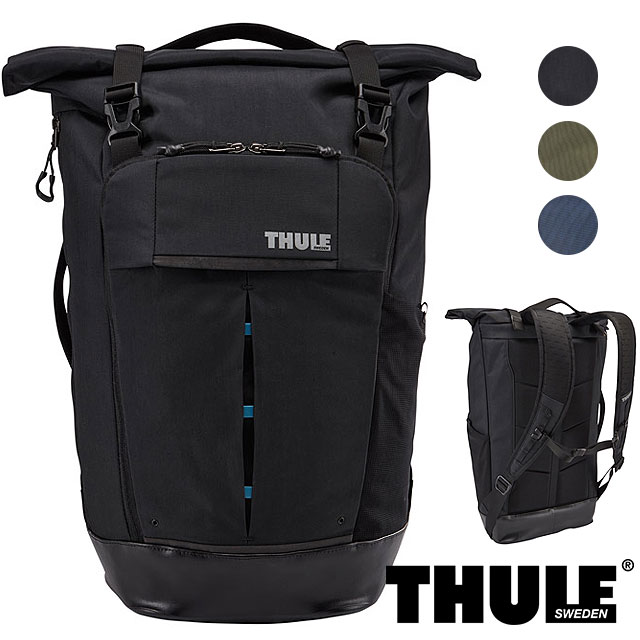 【即納】THULE スーリー リュック Paramount 24L Backpack パラマウント バックパック (ロールトップ バッグ デイパック) (TRDP-115) shoetime【コンビニ受取対応商品】