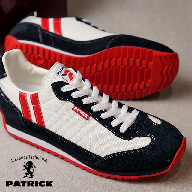 【返品送料無料】【ノベルティプレゼント】パトリック PATRICK スニーカー MARATHON マラソン メンズ・レディース 日本製 靴 WHITE ホワイト (9420)