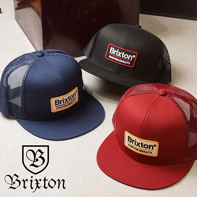 b2b73d92494 BRIXTON Brixton cap PALMER MESH CAP Palmer mesh cap hat black (00611 SS17)