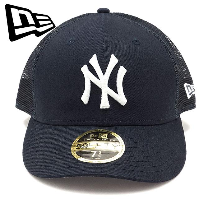 f8d2ee34997 NEWERA new gills cap New Era LP 59FIFTY Trucker NY MESH CAP New York Yankees  mesh cap baseball cap hat navy   Snow white (11404215 SS17)