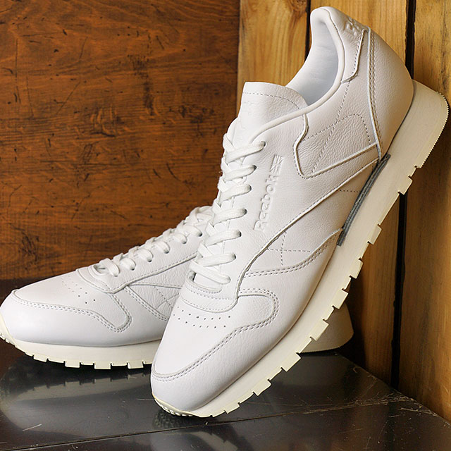 f4cae2c2e08 Reebok CLASSIC Reebok classical music CL LEATHER OMN classical music  leather Old Meets New Pack WHITE shoes (BD1905 SS17)
