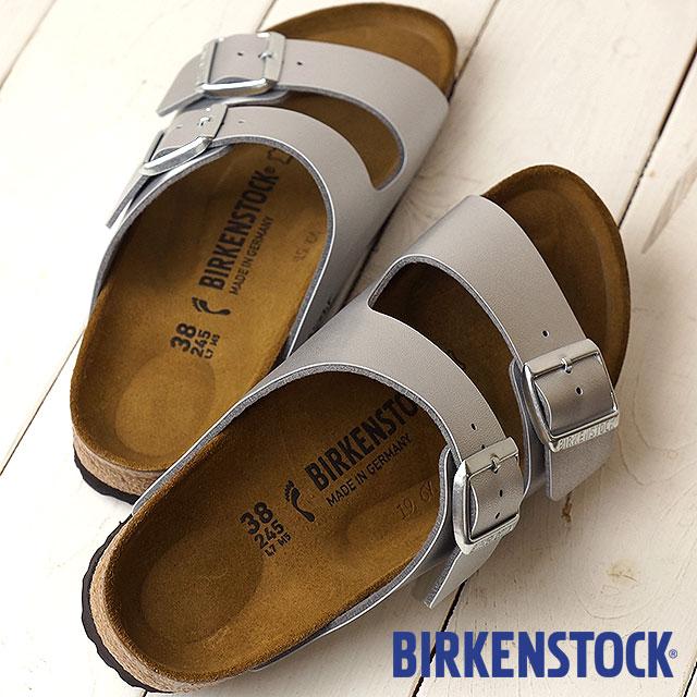 【在庫限り】BIRKENSTOCK ビルケンシュトック レディース ARIZONA アリゾナ シルバー 靴 (GK555133 SS17)【ts】【e】【コンビニ受取対応商品】
