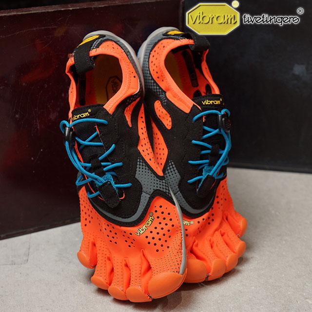 Vibram FiveFingers ビブラムファイブフィンガーズ メンズ ランニングモデル MNS V-RUN ORANGE ビブラム ファイブフィンガーズ 5本指シューズ ベアフット 靴 (17M7002)【コンビニ受取対応商品】
