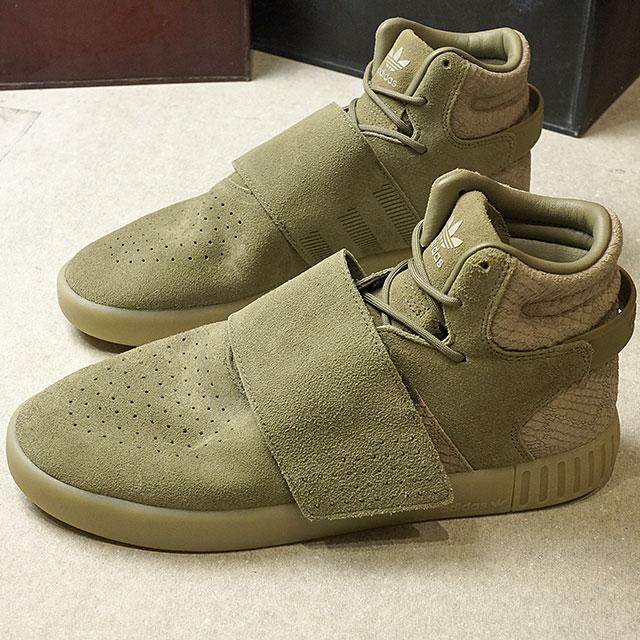 finest selection the sale of shoes quality adidas Adidas TUBULAR INVADER STRAP チュブラーインベーダーストラップアディダスオリジナルス adidas  Originals T cargo S17/T cargo S17/ sesame (BB8391 SS17)
