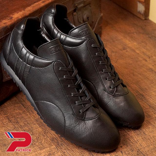 【即納】【返品送料無料】PATRICK パトリック スニーカー 靴 CALLAC-WP カラック・ウォータープルーフ BLK メンズ・レディース (529371 SS18)【コンビニ受取対応商品】