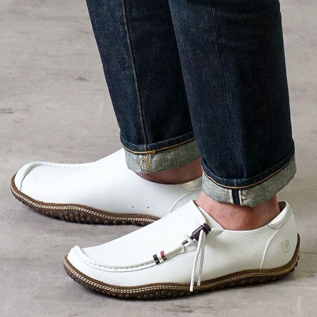 コンカラー オアシス conqueror メンズ シューズ OASIS レザー/ホワイト 靴 (130 SS19