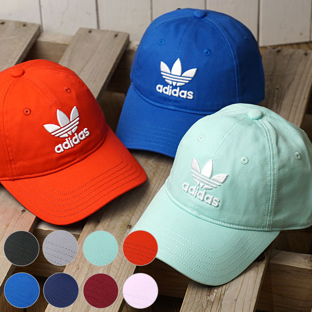 856596ab アディダスオリジナルストレフォイルキャップ adidas Originals TREFOIL CAP (MLH55/BK7277 DJ0883  DJ0884 DJ0885 ...