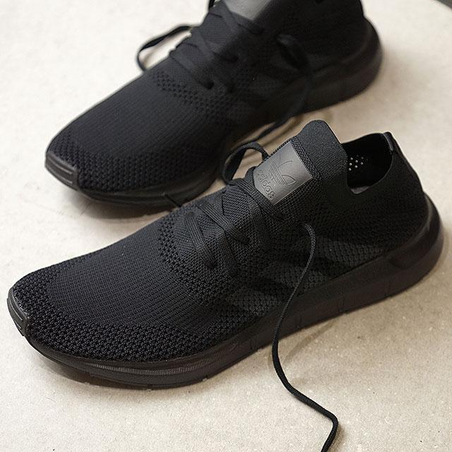 【在庫限り】adidas アディダス SWIFTRUN PK スイフトラン プライムニット アディダスオリジナルス adidas Originals コアブラック/グレーF/コアブラック 靴 (CQ2893 SS18)【ts】