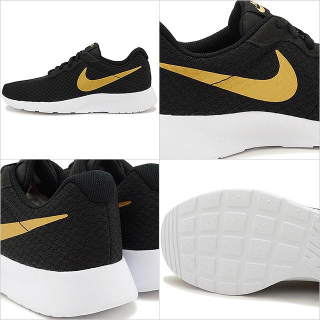 794f5fb35 ... NIKE Nike tongue Jun sneakers Lady's WMNS TANJUN women tongue Jun black  / metallic gold ...