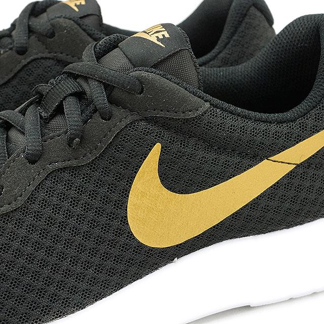 13c46e9bb ... NIKE Nike tongue Jun sneakers Lady's WMNS TANJUN women tongue Jun black  / metallic gold (