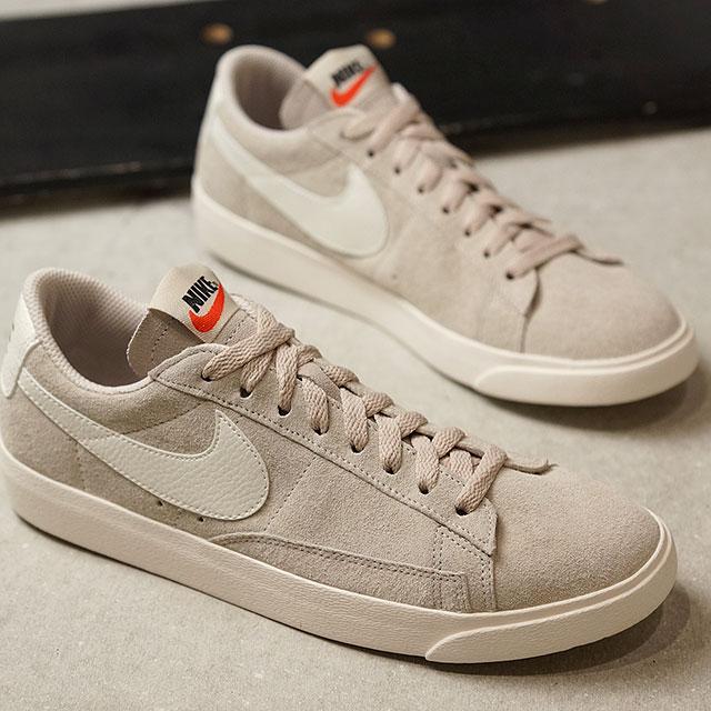brand new e988f 5c709 NIKE Nike sneakers Lady's WMNS BLAZER LOW SD ウィメンズブレーザーロースエードデザートサンド / sail  (AA3962-005 SS18)