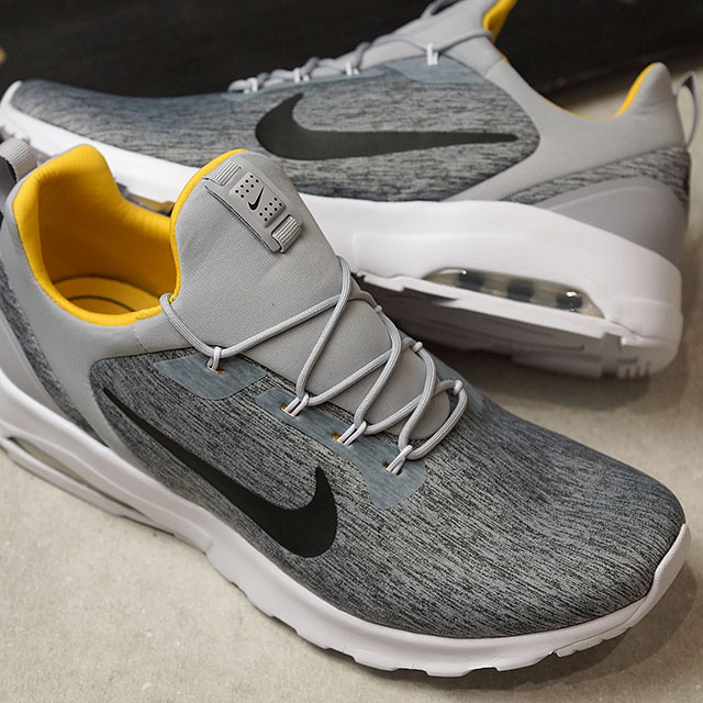 NIKE Nike sneakers men AIR MAX MOTION RACER Air Max motion racer wolf gray  / black (916,771-005 SS18)