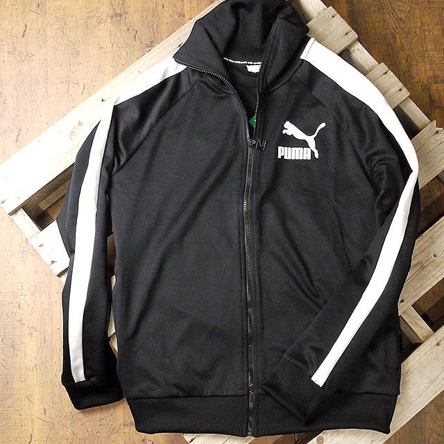 485ae2e804dd PUMA Puma jersey men T7 VINTAGE TRACK JACKET T7 vintage truck jacket PUMA  BLACK WHITE (576