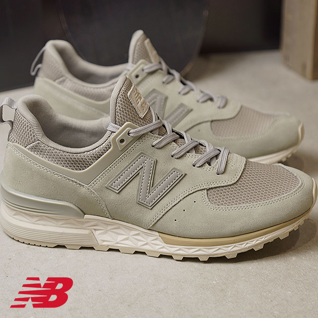 newbalance New Balance men Lady's D Wise MS574 FSG stone gray sneakers  shoes (MS574FSG SS18)
