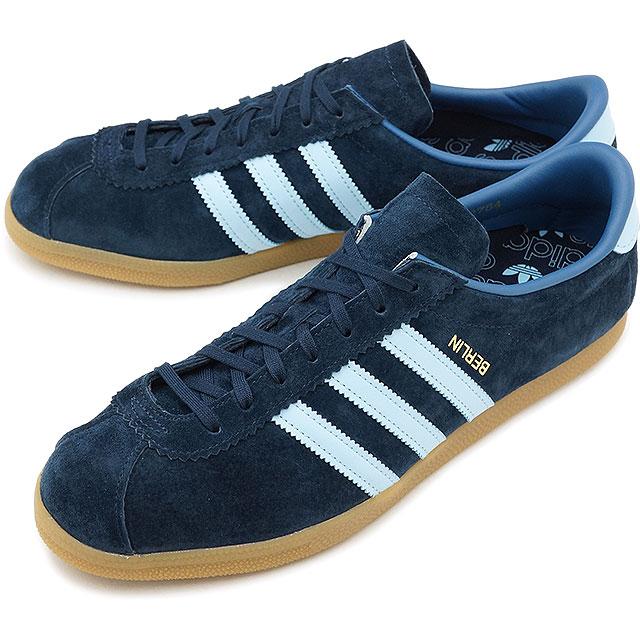 big sale f64bb 5fc75 adidas Adidas sneakers shoes men originals BERLIN Berlin dark Malin  clear  sky T blue F17 (CQ2754 SS18)