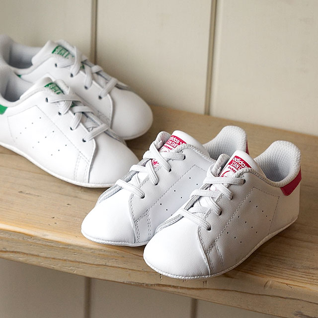 competitive price bd894 7839e adidas Adidas sneakers kids originals STAN SMITH CRIB Stan Smith baby R  white /R white / boldface pink (S82618 SS18)