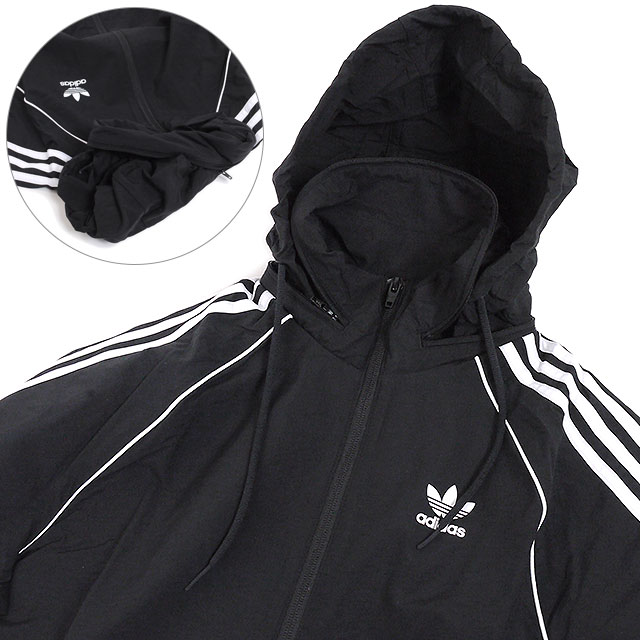 adidas originals SST WINDBREAKER black bei