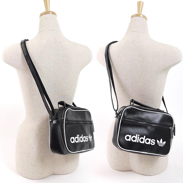 adidas Adidas porch bag MINI ARILINER VINTAGE mini-airline vintage vanity  bag adidas Originals Adidas originals (DSV02 BQ1488 SS18) 0709b8748ca