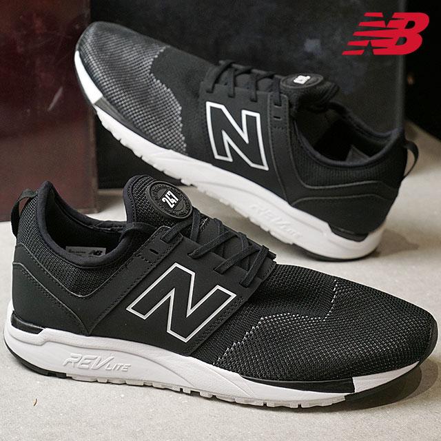 【在庫限り】newbalance ニューバランス メンズ・レディース Dワイズ MRL247 NK ブラック スニーカー 靴 (MRL247NK SS18)【e】【ts】【コンビニ受取対応商品】