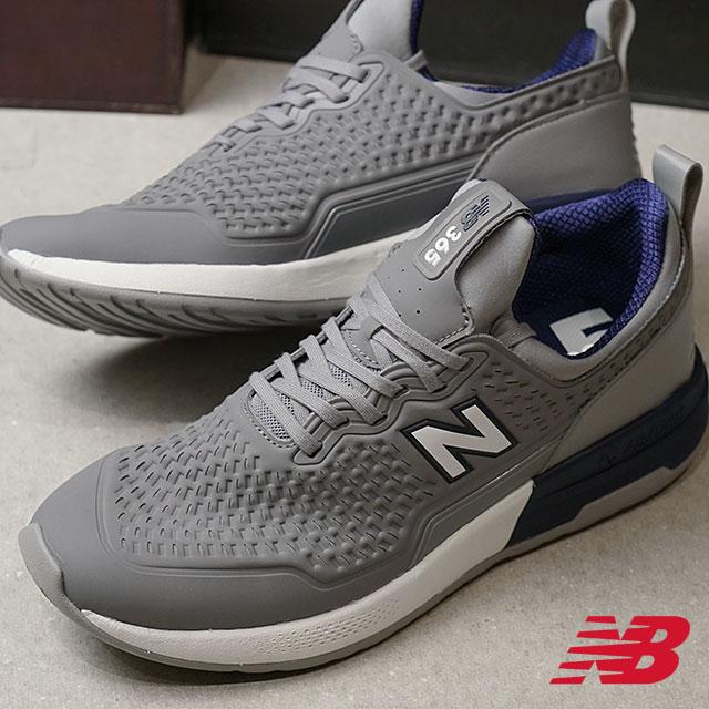 【ラスト1足/27.5cm】newbalance ニューバランス メンズ Dワイズ MS365 NA グレー スニーカー 靴 (MS365NA SS18)【ts】【コンビニ受取対応商品】
