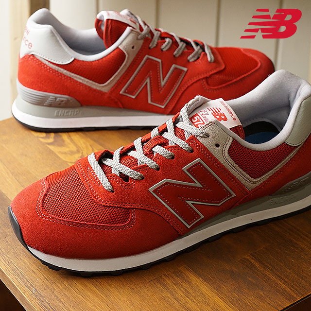best service e82be 54c0c newbalance New Balance men Lady's D Wise ML574 ERD team red sneakers shoes  (ML574ERD SS18)