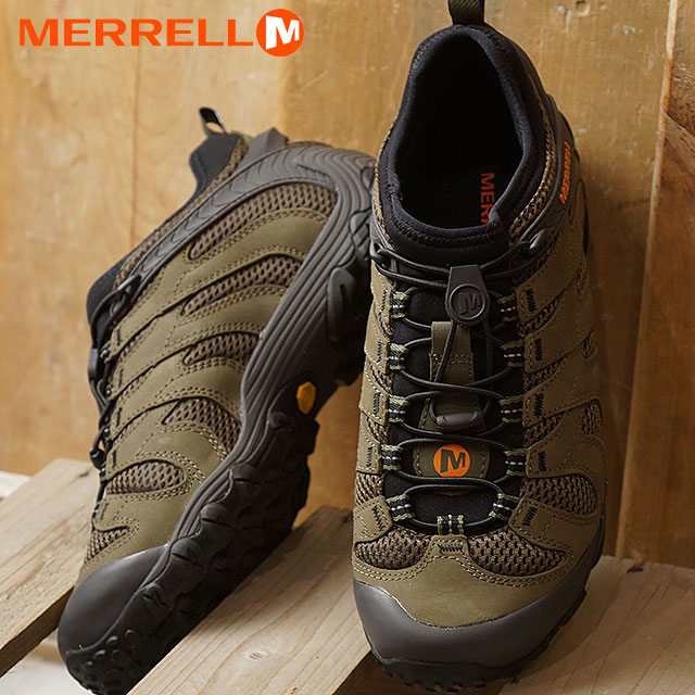 new products double coupon beautiful in colour MERRELL メレルメンズスニーカー MEN CHAMELEON7 STRETCH chameleon 7 stretch DUSTY OLIVE  (12069 SS18)