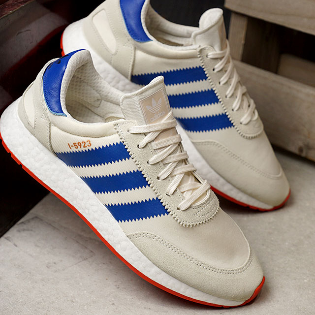 adidas Adidas sneakers men originals INIKI RUNNER イニキランナーオフホワイト blue core red S17 (BB2093 SS18)