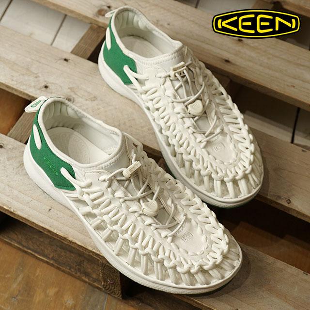 【ラスト1足/23.0cm】KEEN キーン ユニーク スニーカー 靴 サンダル 靴 レディース W UNEEK O2 ユニーク オーツー White/Amazon (1018735 SS18)【ts】【e】【コンビニ受取対応商品】