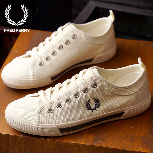 Fred Perry Horton Canvas Ecru UuUbc