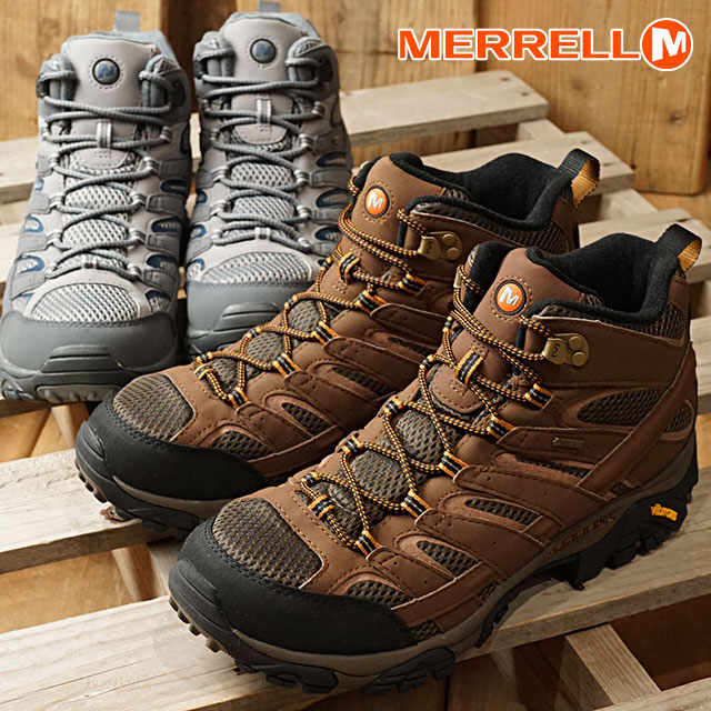 4bf1396f5c954 メレルモアブ 2 mid Gore-Tex men MERRELL MOAB 2 MID GORE-TEX MNS trekking ...