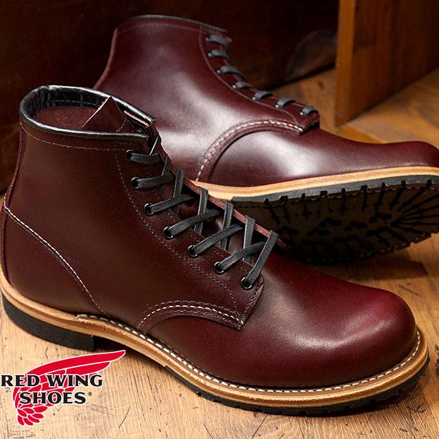 【返品サイズ交換可】レッドウィング ベックマンブーツ ラウンドトゥ/プレーントゥ #9411 REDWING BECKMAN BOOTS 靴 BLACK CHERRY FEATHERSTONE 【コンビニ受取対応商品】