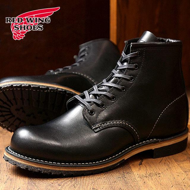 【返品サイズ交換可】レッドウィング ベックマンブーツ ラウンドトゥ/プレーントゥ #9414 REDWING BECKMAN BOOTS 靴 BLACK FEATHERSTONE【コンビニ受取対応商品】